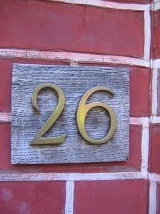 John Simmons' front door