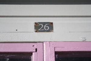 Beach Hut #26 in Lyme Regis - Sara Dean