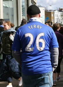 Saturday 22nd March: a couple of hours before Chelsea beat Arsenal 6-0 - Francis Glibbery