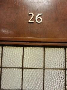 Room 26 at Senate House - Ezri Carlebach