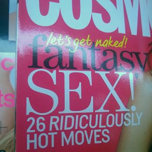 26 gets raunchy! Spotted on a WHSmith middle shelf - Jim Davies