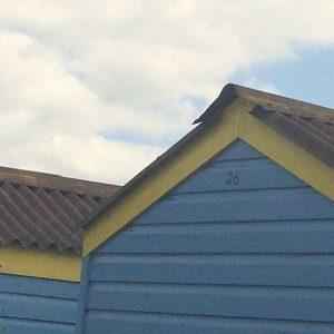 Beach huts at Littlehampton - Fiona Thompson