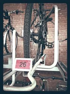 Bike racks at Marylebone Station - Jim Davies