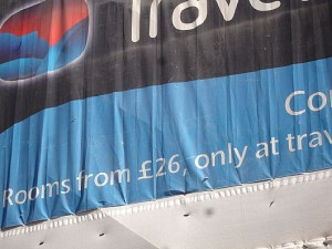 Travelodge poster - Tom Lynham